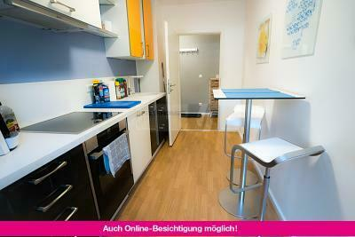 DESIGN-FURNISHED SINGLE APARTMENT WITH MANY EXTRAS