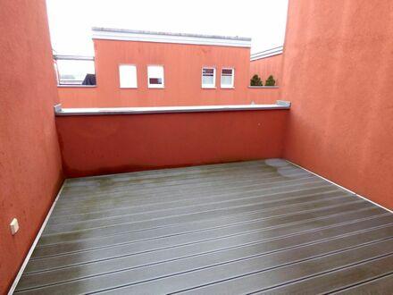 1 3 0 qm LOFT mit DACHTERRASSE auf 2 Etagen wie HAUS im HAUS und großflächig verglasten Wohnbereich