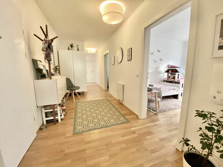 Klagenfurt - Viktring - Carolinenstraße: 4-Zi-Wohnung mit 103 m² Terrasse