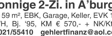 Wohnung 59m² in 63741 Aschaffenburg