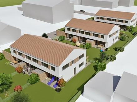 Neubau eines Reihenmittelhauses in ruhiger Wohnlage von Attel - Baubeginn bereits erfolgt!