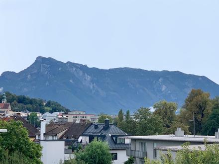 Wohnen mit Weitblick nahe dem Salzachkai! Schicke Dachgeschoss-Wohnung in kleinem Bauprojekt