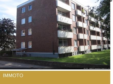 Schön geschnittene und helle 2 Zimmerwohnung mit Balkon im Stadtteil Donnerschwee!