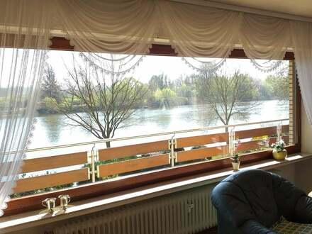 Eigentumswohnung mit einmaliger Aussicht zur Weser