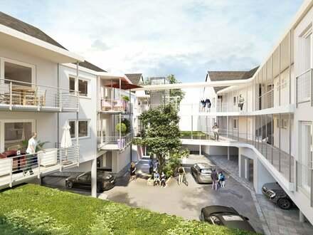 """2 Häuser mit 16 Neubau-Eigentumswohnungen """"Obere Mühle"""""""