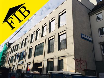 Neu auszubauende Gewerbefläche mit Dachterrasse als Büro oder Praxis in 1A-Lage der Bielefelder Innenstadt (Fußgängerzone)