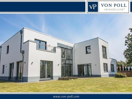 Neubauvilla im Bauhausstil