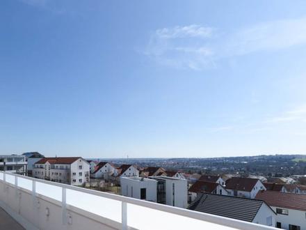 """Wenn Klasse entscheidet! Wohnen """"Am Schinderwasen"""" in Blaustein 3-Zi.-Penthouse in Südwestlage"""
