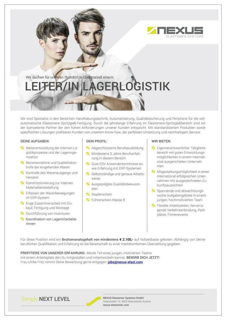 LeiterIn Lagerlogistik