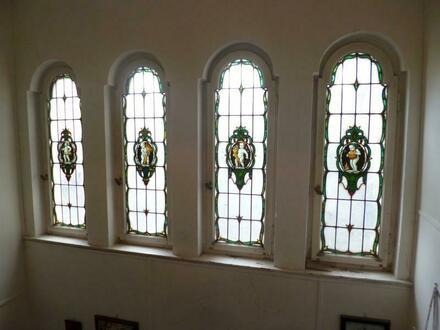 Bleiglasfenster Treppenhaus
