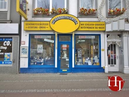 """Ladenlokal mit Geschäftsübernahme """"Sicherheitscenter"""" in direkter Nähe zum Bahnhof!"""