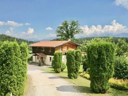 Velden am Wörthersee - Saissersee: Wohlfühl-Familienhaus in sonniger Grünlage