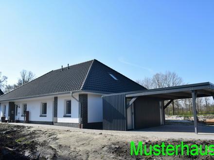 Objekt Nr. 19/815 Neubau DHH mit Caport und Geräteraum im Seemannsort Barßel
