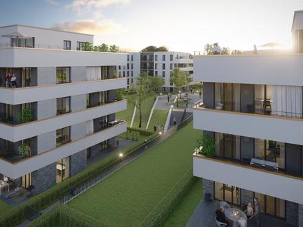Leben am Park - EG Wohnung mit West-Terrasse
