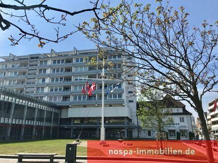 2-Zimmer-Wohnung mit Panoramablick Richtung Nordsee in der Westerländer Innenstadt!