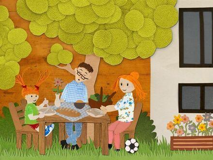 ZUHAUSE FÜR DIE FAMILIENBANDE: Passivhaus mit Terrasse & Garten in zentraler Lage