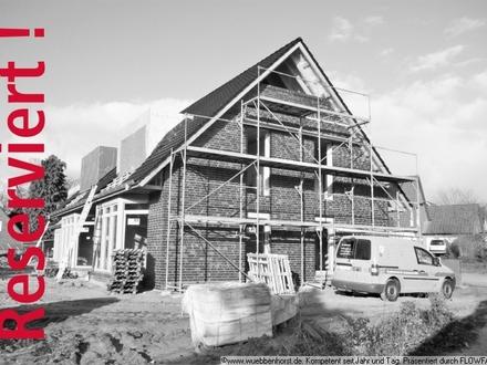 Hochwertiges Neubau-Reihenmittelhaus in ruhiger Lage in Sandkrug
