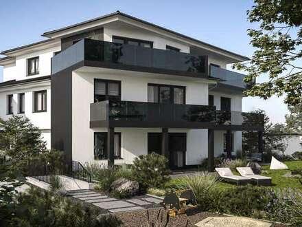 seit 1992 IMMO-ZAHN TOP NEUBAU-PROJEKT - NUR 8 EXKLUSIVE ETWs sonnige 3-Zi.EG-Terrassenwohnung