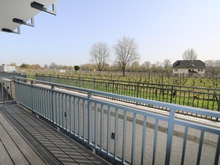 Neubau-Erstbezug: Sonnige 3-Zi. EG-Wohnung mit Rheinblick inkl. TG-Stellpl. in Oestrich-Winkel
