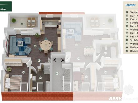 BERK Immobilien - Exklusive 2-Zi. ETW mit Dachterrasse in Babenhausen-OT - direkt vom Bauträger!