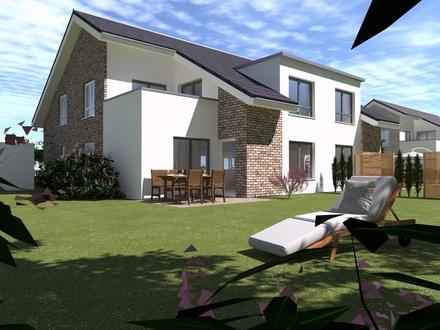 Neubauwohnung im 4-Familienhaus in grüner Lage von Bohmte EG li.