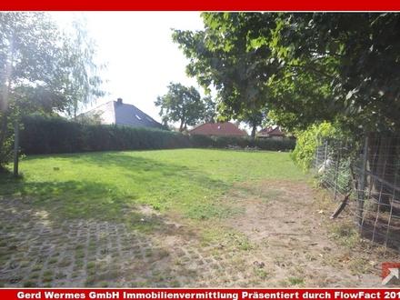 Grundstück ohne Bauzwang mit Pferdeweide inkl. Ställe in Lathen zu verkaufen