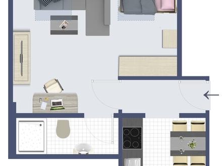 Modernes Apartment mit EBK direkt an den Wallanlagen
