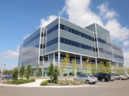 Top gelegenes Gewerbeareal, so ähnlich könnte das Bürogebäude geplant und gebaut werden.