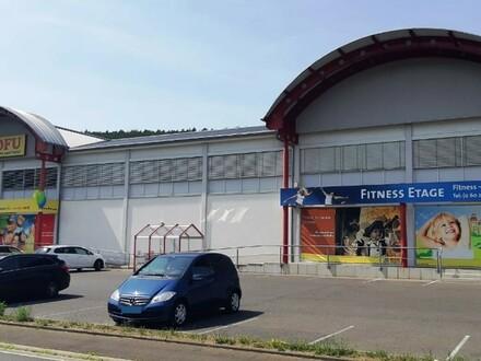 Im Einzelhandelszentrum: Flexibel - großzügig - hell