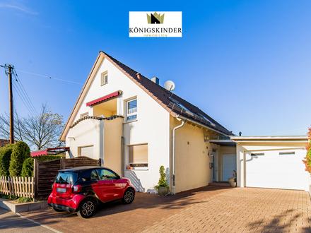 Modernes, helles Zweifamilienhaus in attraktiver Lage von Wendlingen