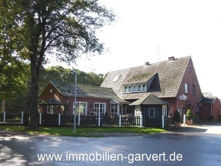Gutgehendes Gasthaus mit Café-Betrieb und Biergarten im Borkener Naherholungsgebiet Pröbsting
