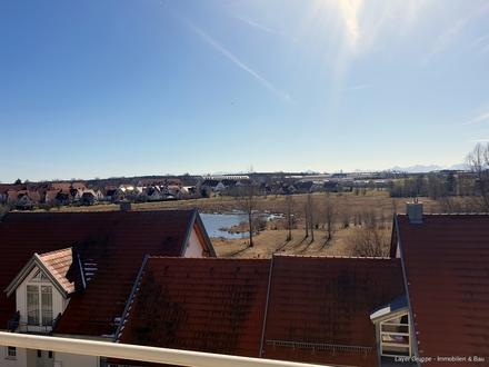 LAYER IMMOBILIEN: Erfüllen Sie sich Ihren Traum! 3-ZKB-Wohnung mit großem Balkon und Tiefgarage