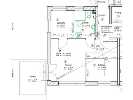 Erstbezug-Gemütliche 2-Zimmer-OG-Wohnung Erholung pur