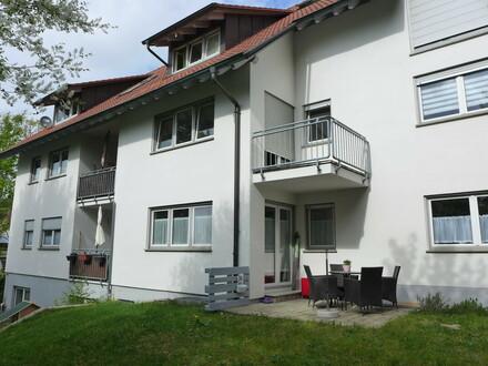 Kapitalanleger aufgepasst: gut vermietete Wohnung mit Terrasse bei Leutkirch
