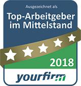Top-Arbeitgeber 2018
