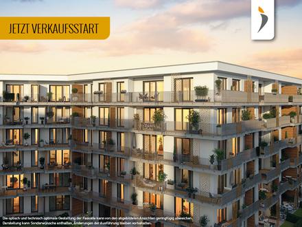 Großer Balkon und gehobene Ausstattung: Geräumige 3-Zimmer-Wohnung am Stadtpark | Kategorie GOLD