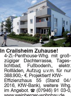 4 Zi. Penthouse Whg
