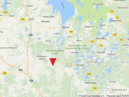 23 ha Acker und Wald in Wittstock/Dosse