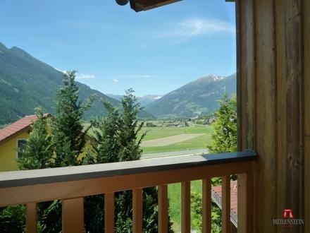 Traumhaus aus Holz- ganzjährig Sonne-- unverbauter Panoramablick im Mölltal