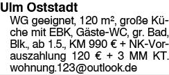 Ulm Oststadt