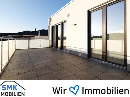 Barrierefreie Wohnung mit Aufzug, zwei Bädern und riesigem Balkon!