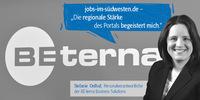 """BE-terna - """"Die regionale Stärke des Portals begeistert mich."""""""