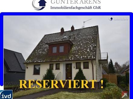 Einfamilienhaus mit Garage und Garten in Bad Zwischenahn - Rostrup