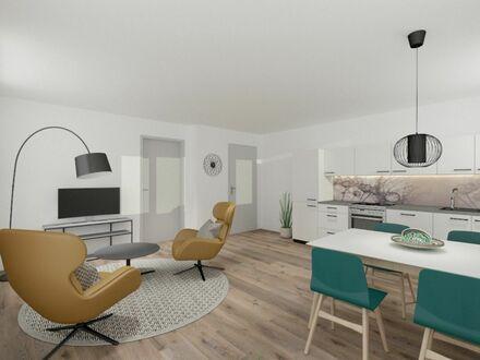 Helle Wohnung mit großer Terrasse und Aufzug im Zentrum von Enger