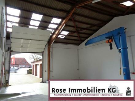 ROSE IMMOBILIEN KG: Lager-/Produktion mit Säulenkran 2t.