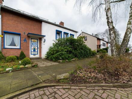 Top-Reihenendhaus mit Garage und südlich ausgerichtetem Garten in der Nähe vom Schöenebecker Schloss !