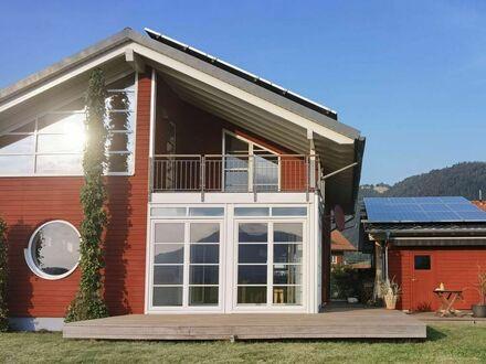 Einfamilienhaus von Fa. Baufritz im Oberallgäu