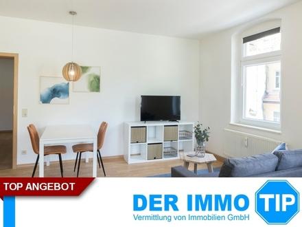 Möblierte 1 Zimmerwohnung mit Tageslichtbad in Chemnitz Siegmar zur Miete