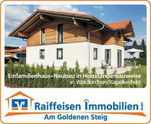 EinfamilienhausNeubau in Holzbauweise in Waldkirchen/ Kapellenfeld