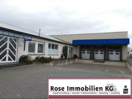 ROSE IMMOBILIEN KG: Lager-/Produktionsflächen mit Rampen und Büros!